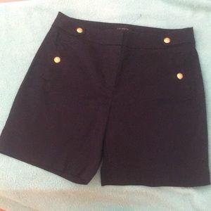 NWT Indigo Tailored 4-pocket Shorts